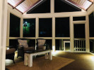 Dement Post and Beam Screened Porch, built by General Contractor Anthony and Company Construction
